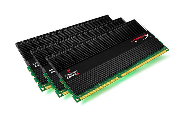 Kingston lansează noi kituri de memorie triple-channel HyperX T1 Black