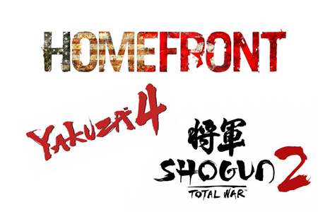Observarea Jocurilor: Homefront, Yakuza 4, Shogun 2