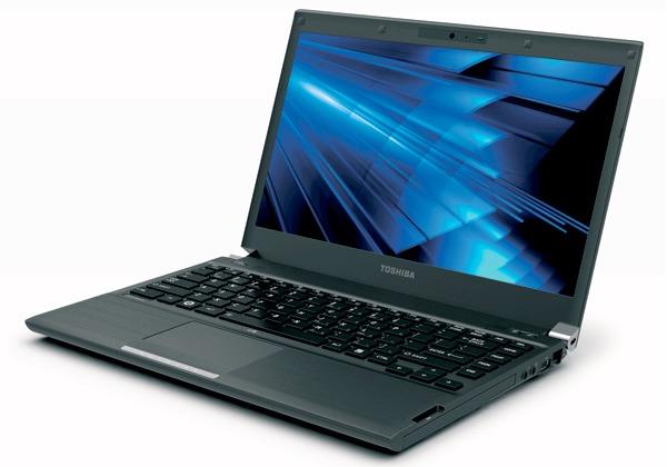 Toshiba's Portege R835 ultraportabil pregatit pentru pre-comenzi