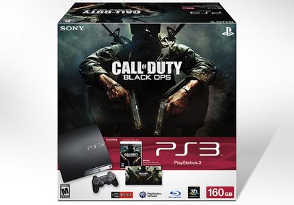 Playstation 3 Call of duy: Black ops bundle vine pe data de 31 mai