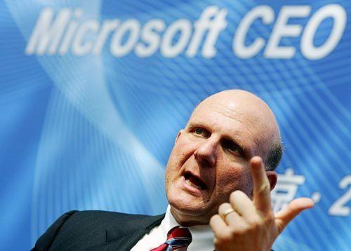 Steve Ballmer sustine prezentarea de software de la CES 2012