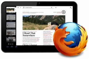Firefox pentru tabletele Android