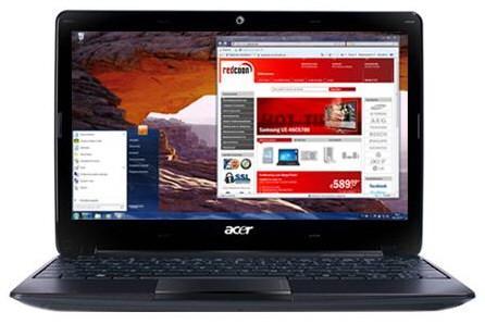 Acer Aspire One 722 de 11.6 inch a adopatat C-60 APU