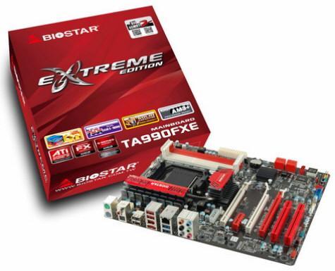 Biostar a lansat placa de baza TA990FXE AM3+
