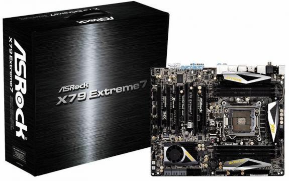 Placa de baza X79 Extreme7 de la AsRock