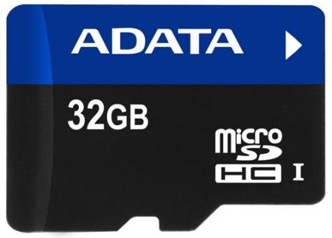 A-Data microSDHC UHS-I-rated