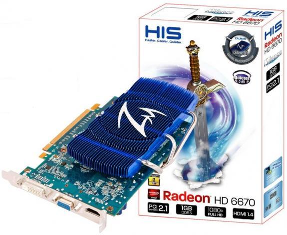 HIS a lansat placa video Radeon HD 6670 iSilence 4
