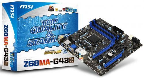 Z68MA-G43 (G3) PCI-Express 3.0