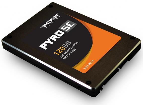 Patriot a lansat SSD-urile Pyro SE SATA 6.0 Gbps
