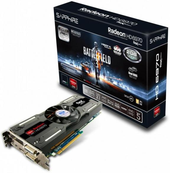 Radeon HD 6970 Editie Speciala Battlefield 3
