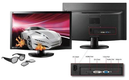 ViewSonic a lansat monitorul 3D V3D231
