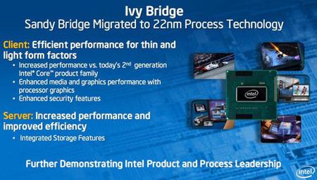 Primele specificatii ale procesorului Intel Ivy Bridge