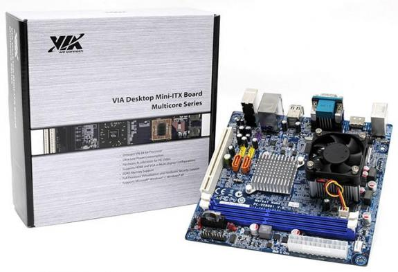Mini-ITX VE-900 echipate cu procesor Nano X2