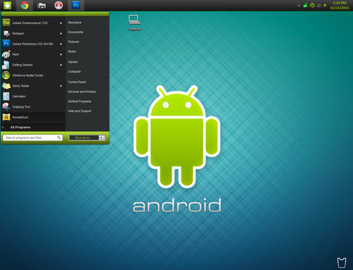 Schimbaţi windowsul în Android