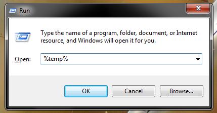 Unde are windows 7 stocate temporar files si cum le stergem