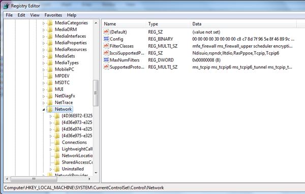 "Folderul ""Network Connections"" din Windows este gol"