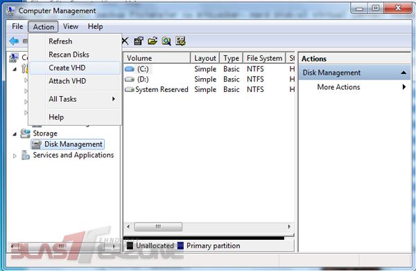 Cum sa faceti backup fisierelor cu BitLocker- Hard Disk-ul Virtual