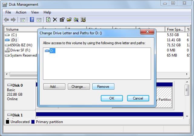 Cum sa restrictionati/ascundeti/ stergeti o partitie din Windows Explorer?