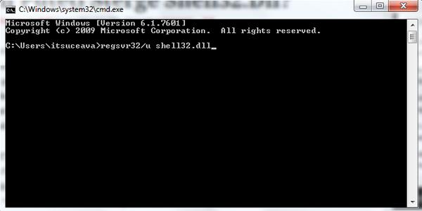 Cum puteti sterge shell32.dll?