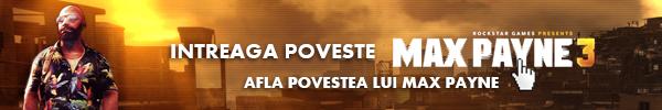 Povestea jocului Max Payne 3