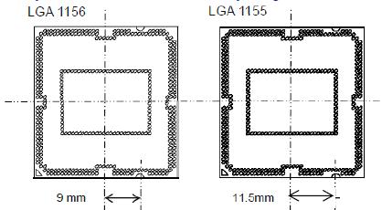 LGA 1156 și LGA1155