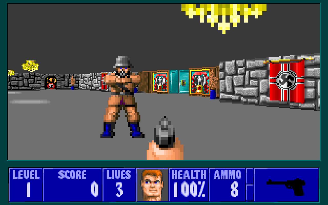 istoria-jocurilor-video-first-person-shooter-wolfenstein-3d
