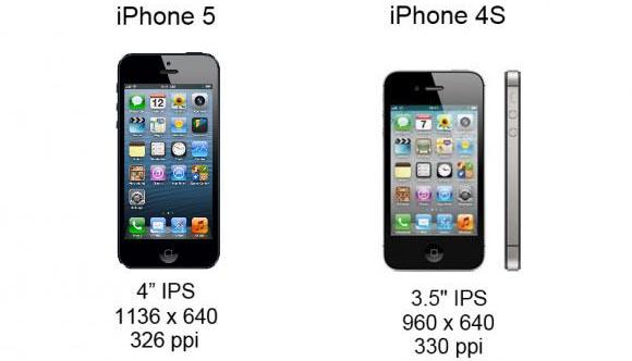 iPhone 5 vs iPhone 4S Comparatii si Detalii
