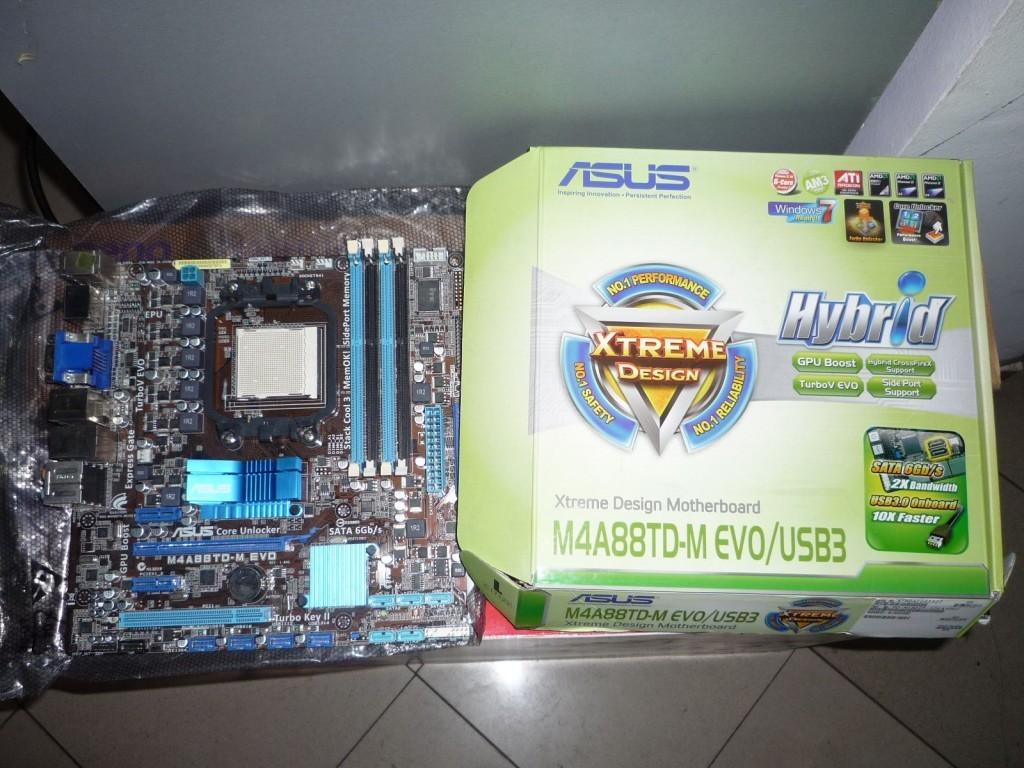 Review Asus M4A88T-M