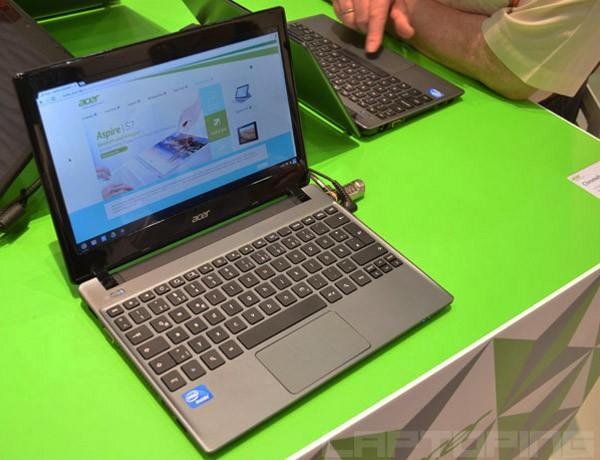 Acer a actualizat Chromebook cu un procesor mai rapid
