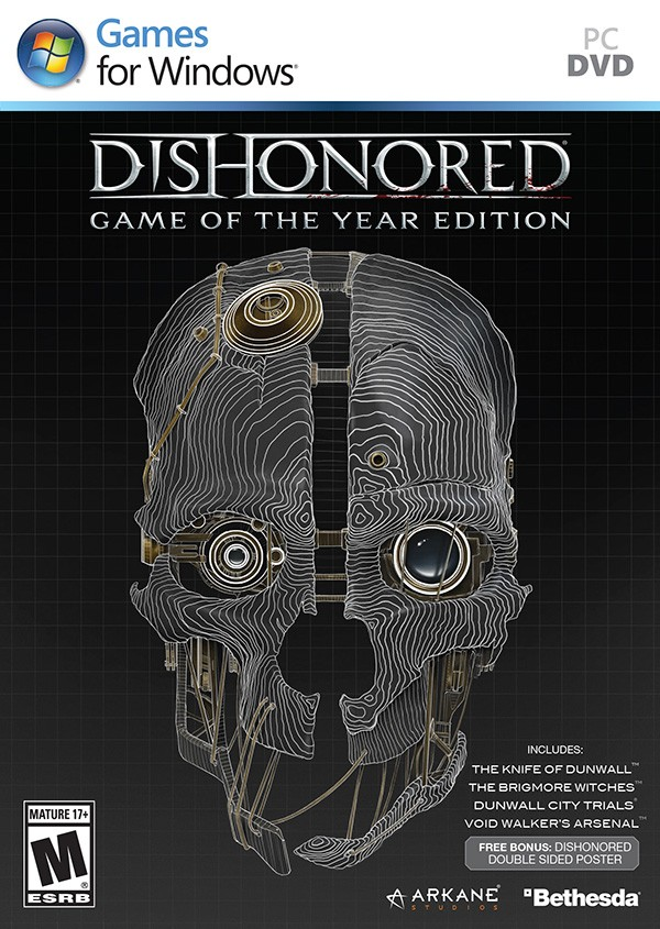 Dishonored: Game of the Year Edition va fi lansat in Octombrie