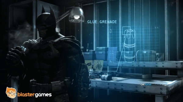 Batman Arkham Origins - Locate the Tracker Placed on Bane