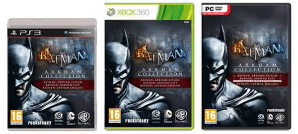Batman Arkham Collection Edition a fost anuntat