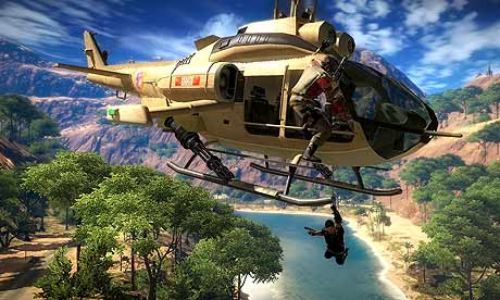 Just Cause 2 multiplayer va fi lansat pe 16 Decembrie