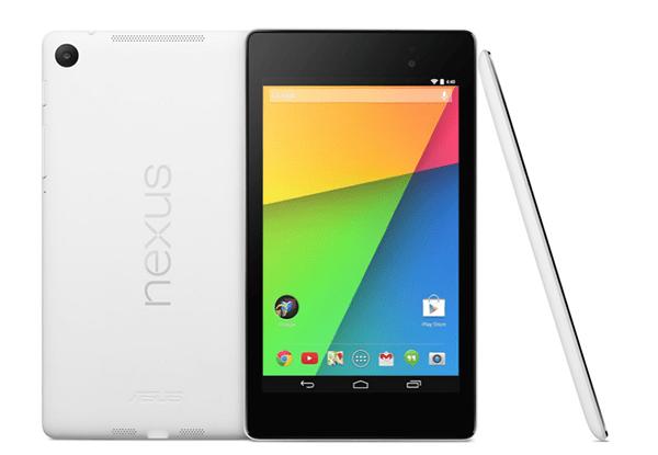 Google Nexus 7 va fi disponibil şi în varianta albă