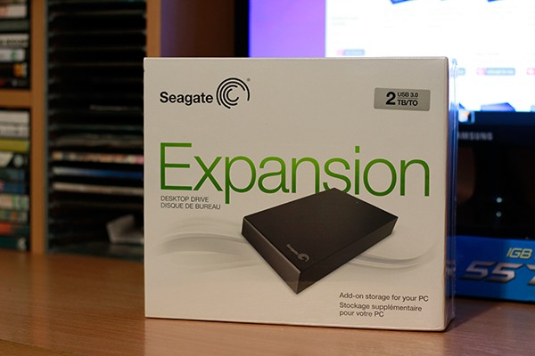 Seagate Expansion Desktop 2TB USB 3.0 Review