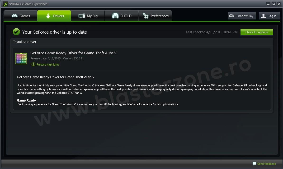 Nvidia a pregatit driverele pentru GTA 5 PC