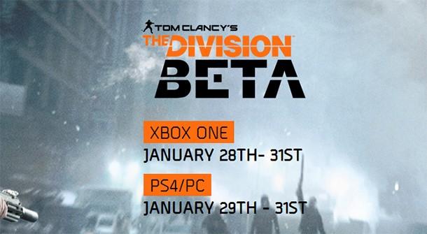 The Division Beta va fi accesibil la sfârşitul lunii