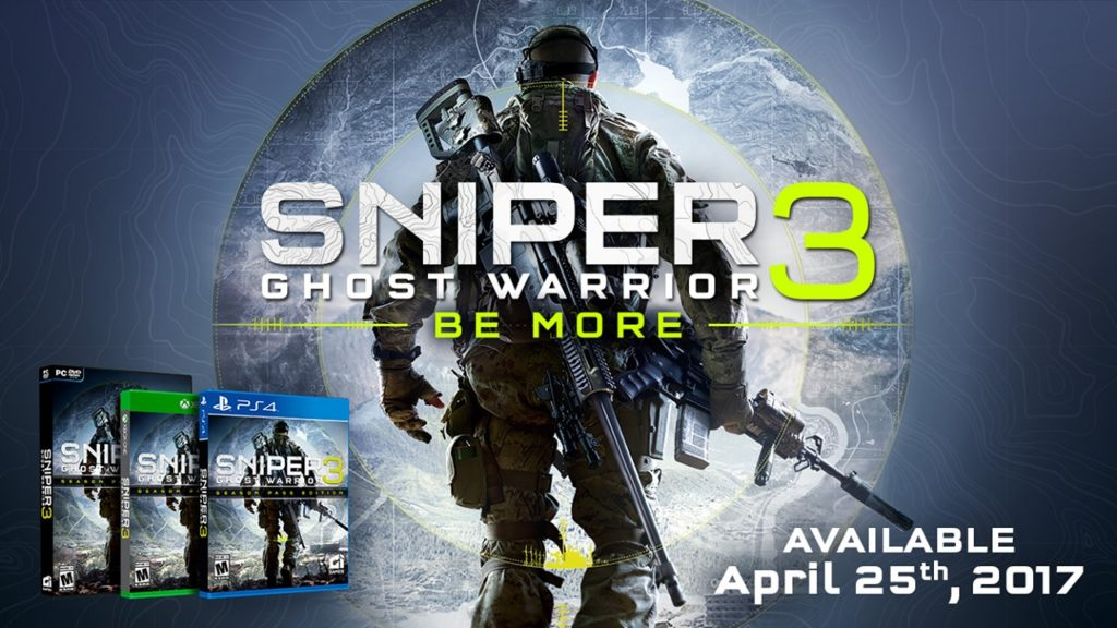Sniper Ghost Warrior 3 a fost amânat