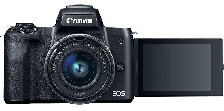 Canon lansează EOS M50 – prima cameră mirrorless a companiei care filmează 4K