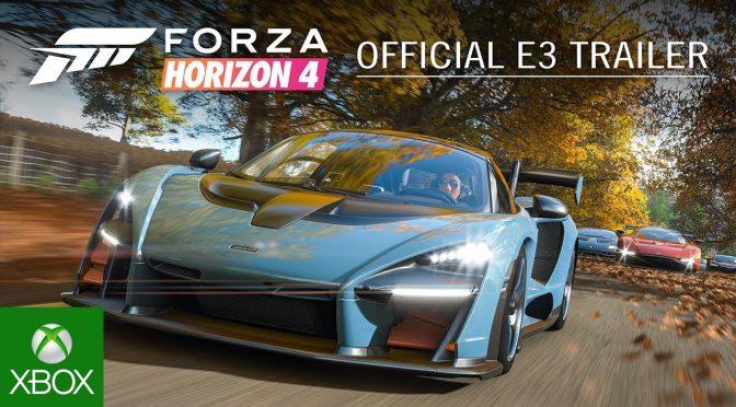 Forza Horizon 4 a fost anunțat oficial