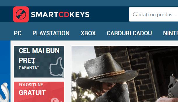 SmartCDKeys – Jocuri la preţuri mici