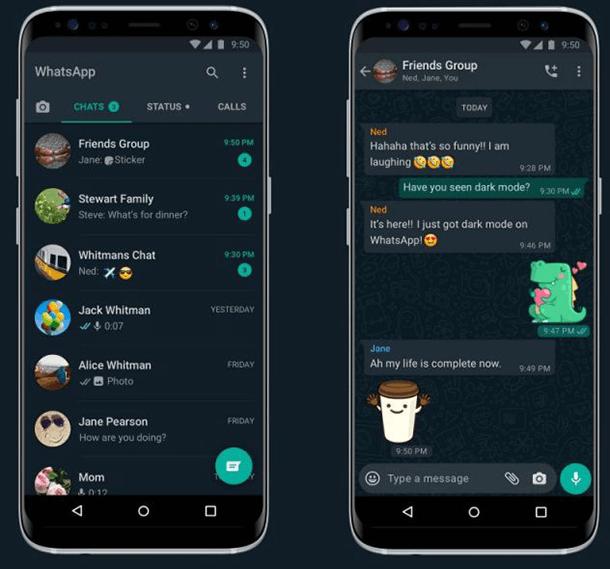 WhatsApp Dark Mode este acum disponibil pentru toţi utilizatorii